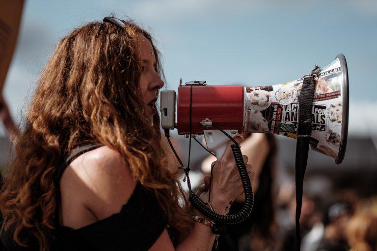 Protest przeciwko budowie kopalni piachu